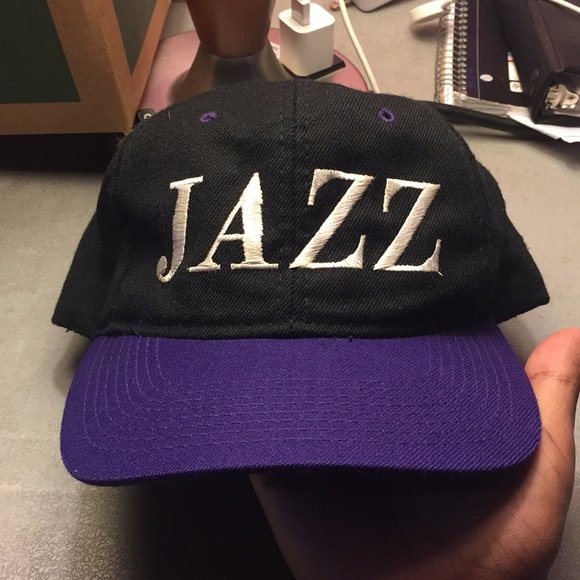 3a502b05 NBA Accessories | Vintage Utah Jazz Hat | Poshmark